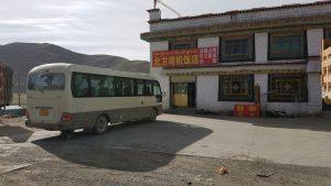 Rasthaus am Qinghai Highway