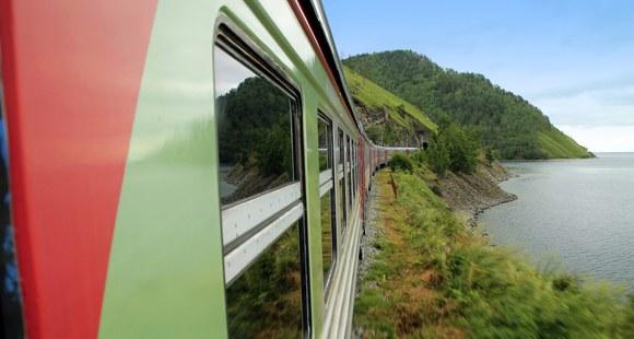 Fahrt mit der Transsibirischen Eisenbahn nach Irkutsk