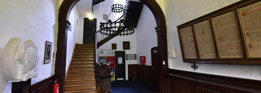 Aufgang zu den Zimmern - Schloss Gimborn