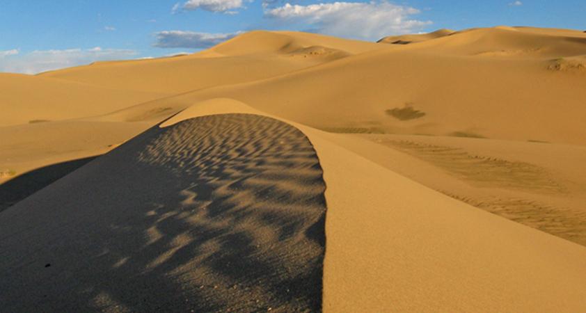 Die berühmte Wüste Gobi / Mongolei