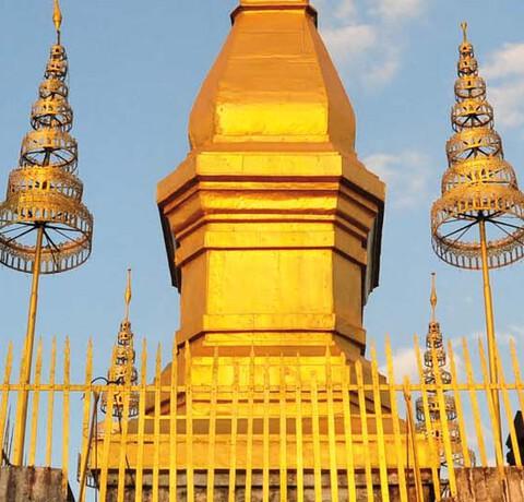 Mount Phousi Tempel in Luang Prabang