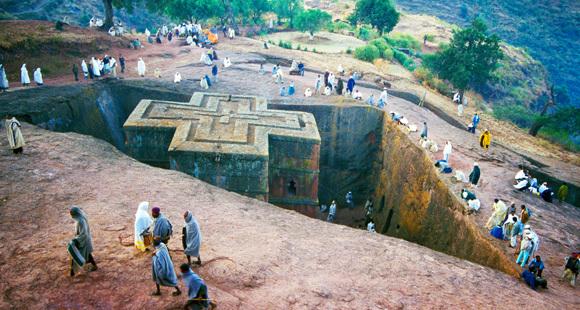 Lalibela Felsenkirche Äthiopien Rundreise