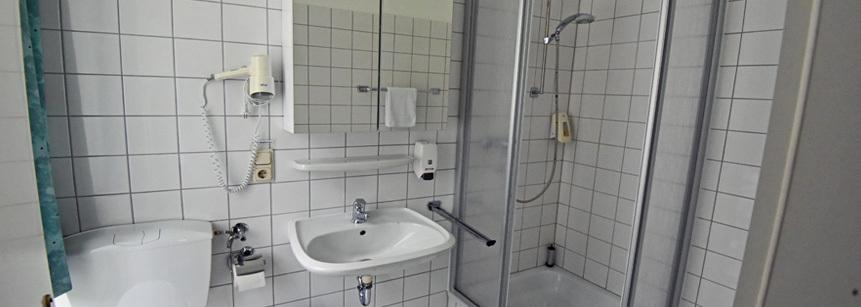 Badezimmer Schloss Gimborn