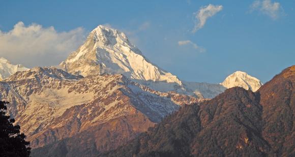 Annapurna Peak in Nepal