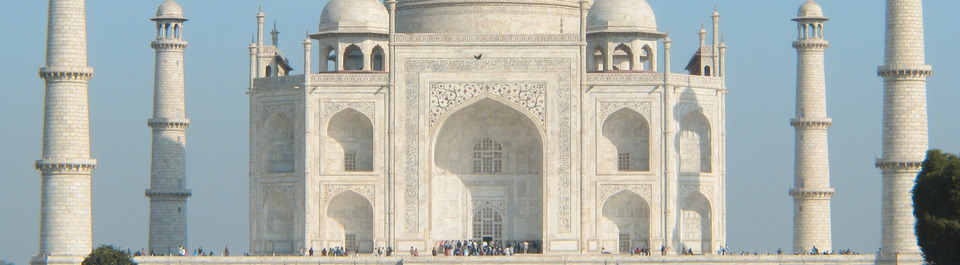Taj Mahal in Agra - Indien Rundreisen