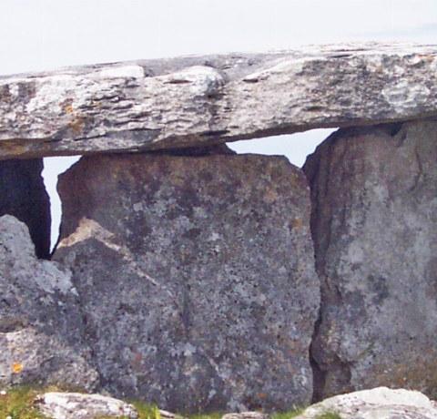 Poulnabrone Dolmen Burren Nationalpark Irland