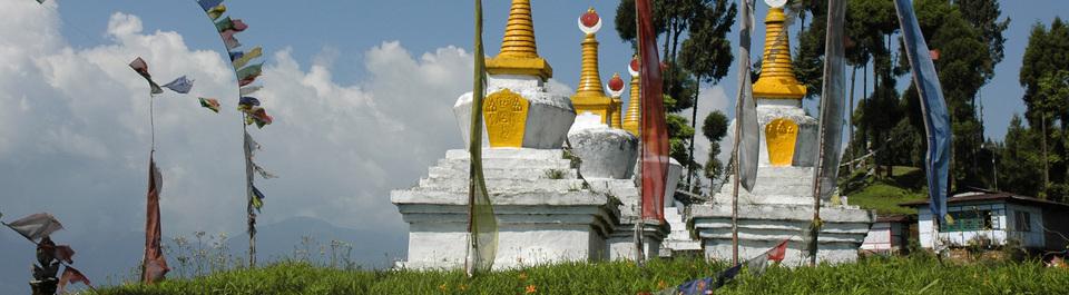 Stupa Sikkim Bhutan