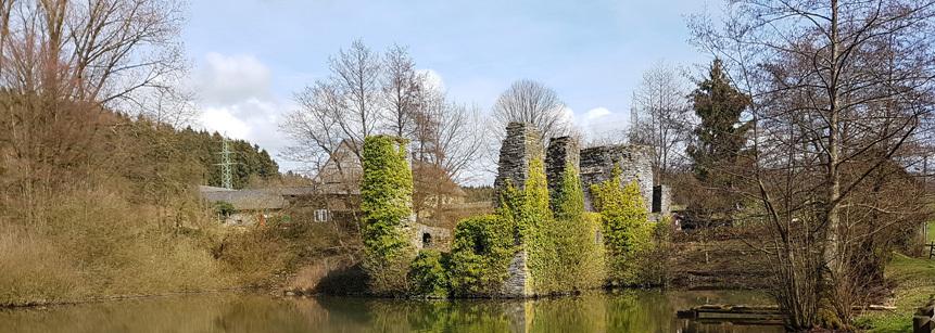 Burg Eibach im Oberbergischen Land