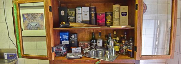 Whiskyverkostung in Unterpentinghausen