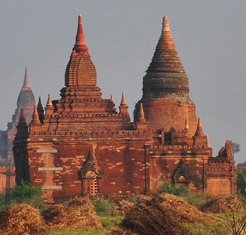 Tempel von Bagan in Myanmar