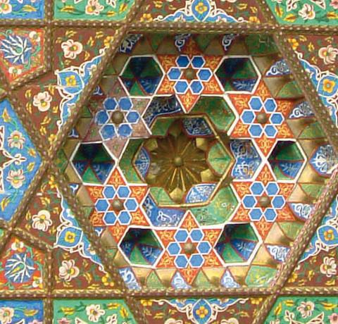 Bunte Mosaike in Turkmenistan