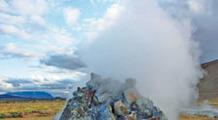 Dampfende Quellen am Mývatn auf Island - das Geothermalgebiet bei Námaskarð